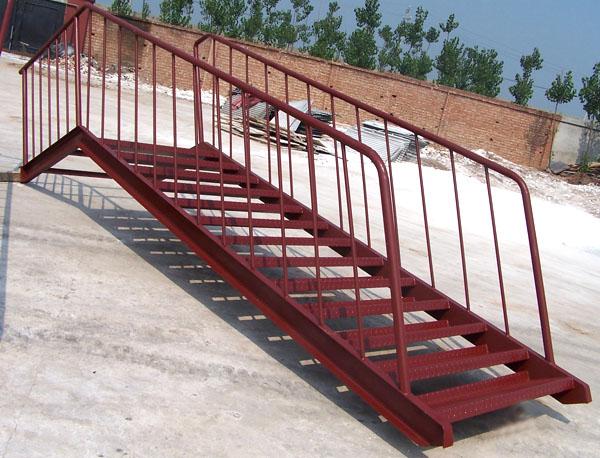 室外铁楼梯设计图